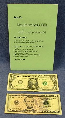 Metamorphosis Bills (Bob Solari)