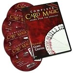 complete card magic 4 dvd Set