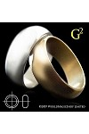 Wizard PK Ring G2 - Gold (20mm) by World Magic shop-trick